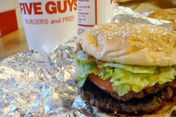 A Musical Review of Five Guys Burgers & Fries
