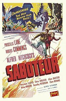 """Hitchcock Conversations: """"Saboteur"""" (1942)"""
