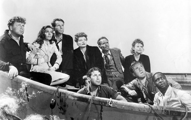 an analysis of the characters in the lifeboat a movie by alfred hitchcock Culture film  features movies you might have missed: alfred hitchcock's lifeboat  during filming, the boat was placed in a large studio tank and, to aid naturalism, never left stationary.