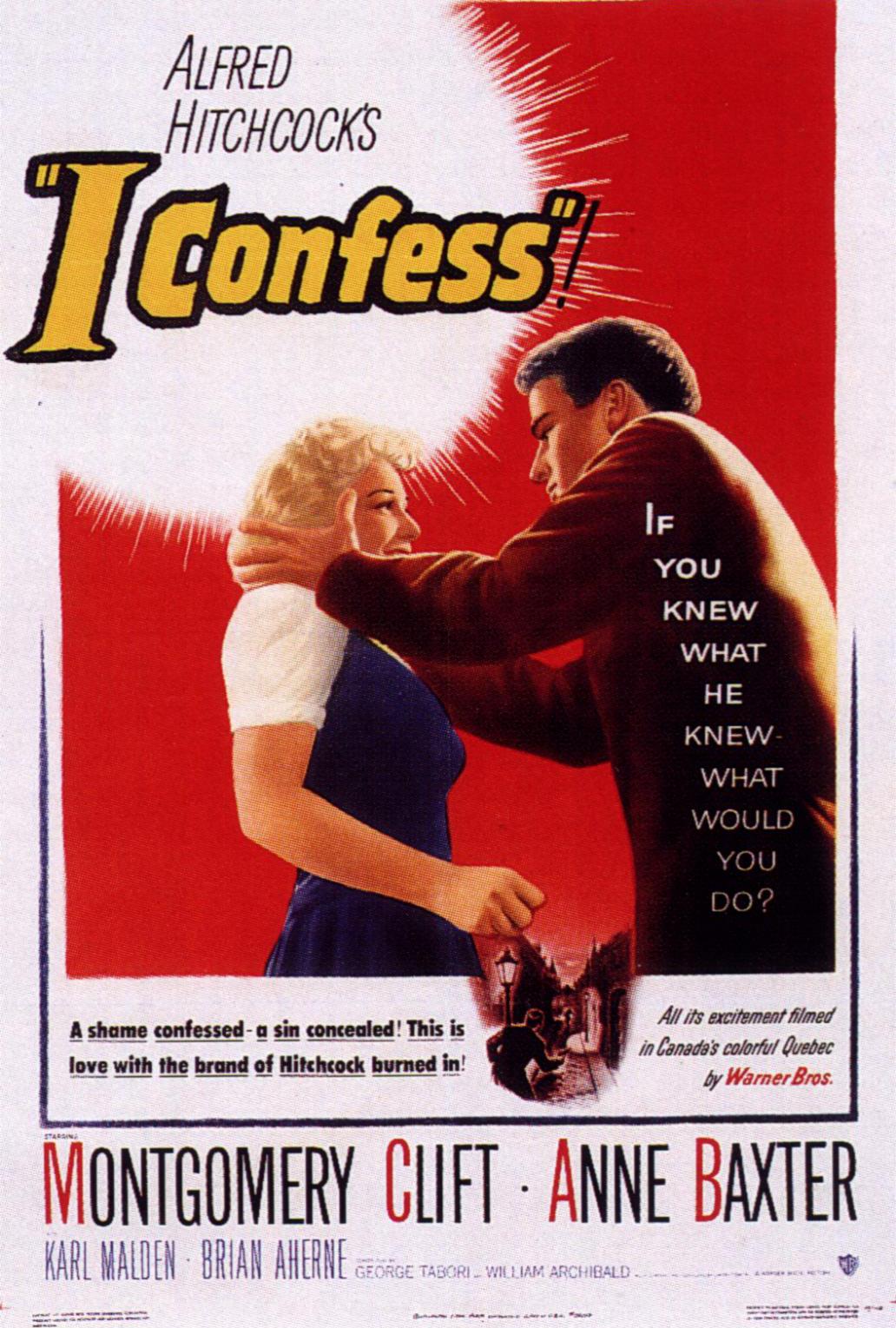 """Hitchcock Conversations: """"I Confess"""" (1953)"""