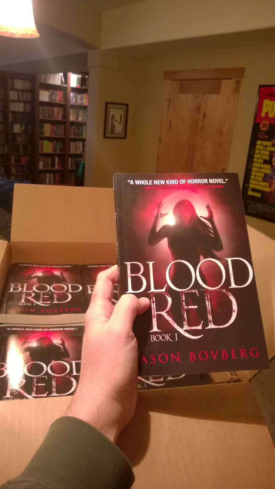 BLOOD RED On Sale Everywhere! Well, Okay, Not Everywhere.